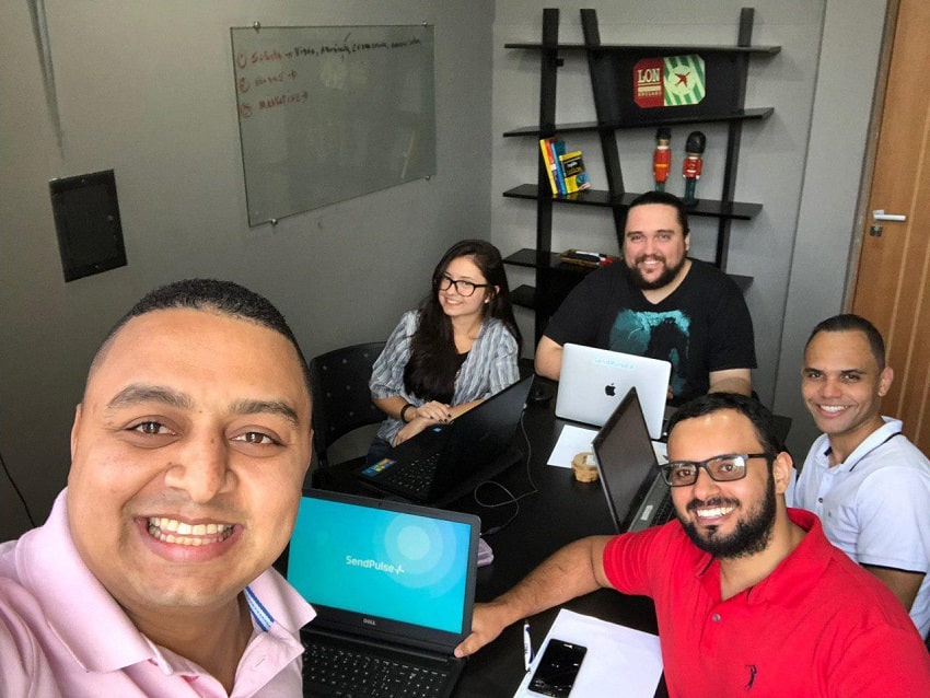 SendPulse office in Brazil
