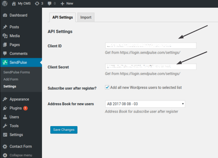 SendPulse Email Plugin for WordPress | SendPulse