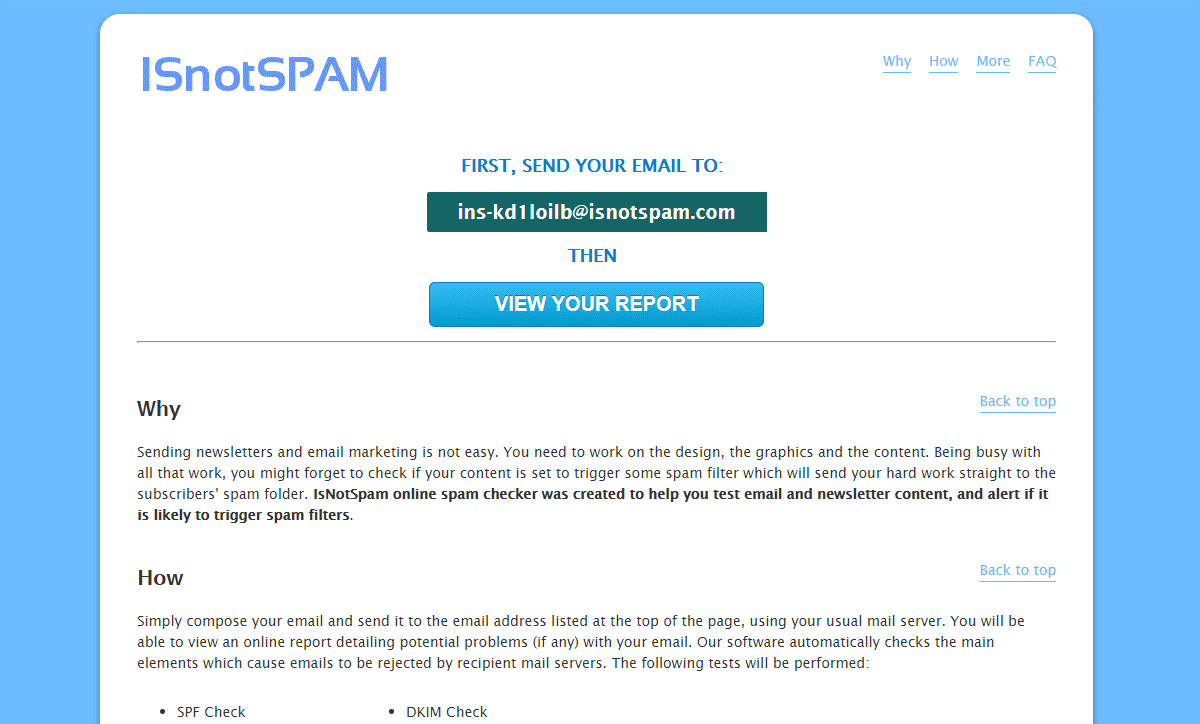 What is Email spam checker - Definition   SendPulse