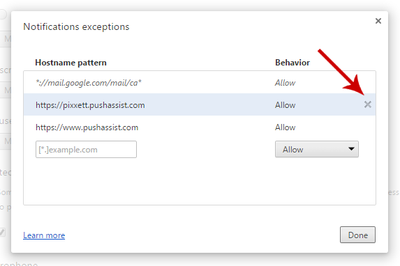 How to enable and disable web push notifications in Google